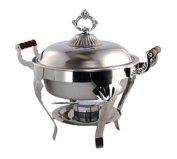 Crown Series 4.7l Round 18/0 Stainless Steel Chafer