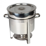 Excellanté Stainless Steel 10.4l Marmite Chafer