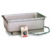 UR Listed Top Mount Uninsulated Drop In Hot Food Well with Drain
