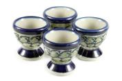Polish Pottery Shannon Egg Cup Set