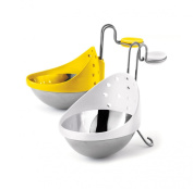 Cuisipro 747308 Stainless Steel Egg Poacher, Set of 2