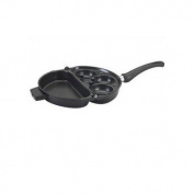Rangeware Folding Egg Poacher and Omlet Pan