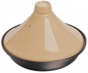 Staub Cast Iron Tagine with Ceramic Dome, Black