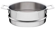 """A Di Alessi,AJM779.8cm POTS & PANS"""", Steamer basket in 18/10 stainless steel mirror polished,24.1cm"""