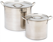 Imusa Stainless Steel Stock Pot, 18.9l