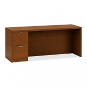 Hon Credenza with Kneespace, 60 by 61cm by 74.9cm , Harvest