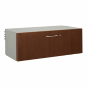 Hon Right Pedestal Credenza with 91.4cm Lateral File, 72 by 61cm by 74.9cm , Harvest
