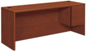 Hon Right Single Pedestal Credenza, 72 by 61cm by 74.9cm