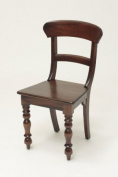 Colonial Chair with Rail Back