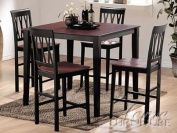 5-pc Pack promenade Design Counter Height Dining Table Set ACS70002
