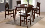 5-pc 2011 Casual Design Counter Height Table set PDS F20326 F10063