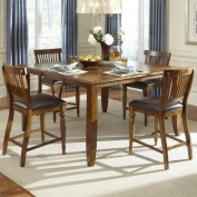 American Heritage Delphina 150cm Butterfly Counter Height Dining Table