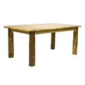 Montana Woodworks MWGCDT4PS Glacier Country Four Post Dining