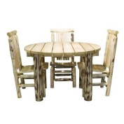 Montana Woodworks Patio Table in Glacier Country
