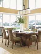 Tommy Bahama Home Tommy Bahama Home Ocean Club Peninsula Dining Table