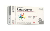 Daxwell F10000305 Natural Rubber Latex General Purpose Glove, Powdered, Medium, Ivory