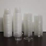 160 - 30ml Jello Shot - Souffle Cups with Lids