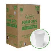 Dart Foam Cups - 500/470ml