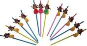 Hula Girl Straws (1 dz)