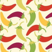 Southwest Chilies Beverage Napkins Chilli Peppers 18 Per Pack