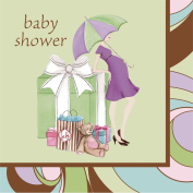 Parenthood Baby Shower 3-Ply Lunch Napkins 16 Per Pack