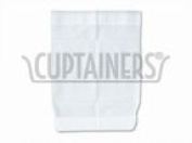 Hoffmaster 120821 Naptastik Clothing Protector with Pouch, 45.7cm Length x 33cm Width, White