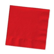 CPD VSMAX33/2R 400 mm 2-Ply Maxima Napkin, Pack of 100, Red