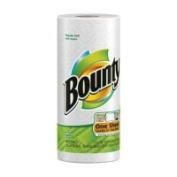 Bounty Perforated Paper Towel Roll, 2-ply, White, 27.9cm x 27.9cm sheets, 48 Sheets per Roll