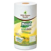 Marcal U-size-It Paper Towel Roll - White - MRC06183