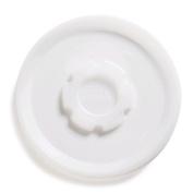 Dinex DX33008714 Polystyrene Disposable Lid, 4-1cm Diameter, Translucent, For Turnbury 270ml Insulated Bowl
