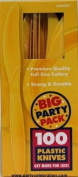 Costumes 203223 Yellow Sunshine Big Party Pack- Knives