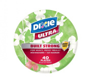 Dixie Ultra 6-2.2cm Plate, 40-Count