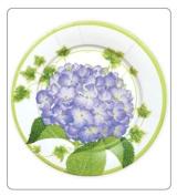 Paper Plates Dinner Size for Party Supplies, Weddings, Etc. by Caspari 25.4cm Round Hydrangea