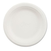 Chinet 21225 Classic White Moulded Fibre Round Plate, 15.2cm Diameter
