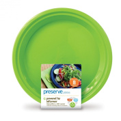 Preserve 63460 Preserve Apple Green Large Plates- 12x8 CT