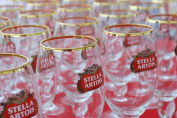 Stella Artois 50 Cl Beer Glasses Brand New Set of 6