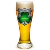 Irish Shamrock Police Shield 680ml Pilsner Glass