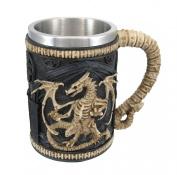 Dragon Skeleton Tankard 470ml Mug