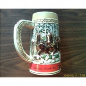 """1987 Collector Series """"C"""" Budweiser Stein"""
