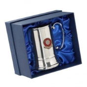 Walsall 'The Saddlers' Football Club Stainless Steel Tankard