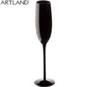 Midnight Black Champagne Glass