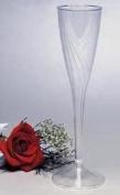 Plastic Champagne Glasses Classicware 150ml 1 Piece Design 10 per Pack