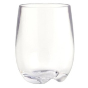 STRAHL WINE LOVER Set of 4 osteria stemless wines - 240ml clear