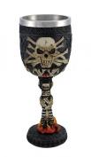 Skull and Bones Wine Goblet 180ml
