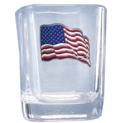Siskiyou Sports US Flag Shot Glass