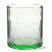 TAG bubble glass double old fashioned, green
