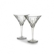 Waterford Lismore Tall Martini Pair