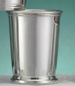 Empire Pewter Patrick Henry Mint Julep Cup with Beaded Border