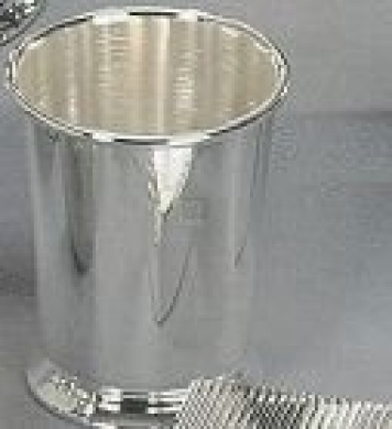 MINT JULEP CUP - MINT JULEP CUP, SILVER PLATED.