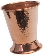 Sertodo Copper Derby Mint Julep Cup, 350ml, Hammered Copper